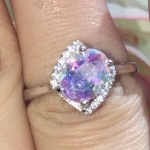 Mercury Mystic Topaz Ring